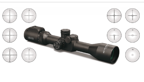 Konus Pro EL 4-16x44 30mm tube, Digital Reticle Rifle Scope with 10 Interchangeable LCD Reticles